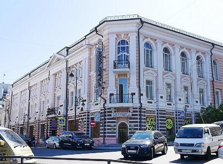 ウラジオストク ベルサイユホテル ヴェルサイユホテル 宿泊記 レビュー 口コミ 外観 ロシア