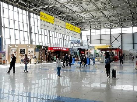 ウラジオストク空港 両替方法 ATM 移動方法 タクシー・バス・電車 営業時間 ロシア
