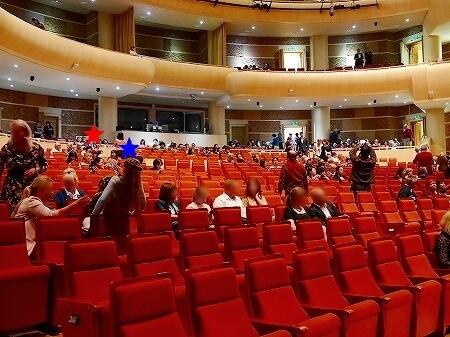 ウラジオストク マリインスキー劇場 バレエ観賞 ブログ おすすめの席 座席 予約方法 オンライン ネット