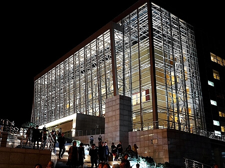 ウラジオストク マリインスキー劇場 マリインスキー沿海州劇場 マリンスキー劇場 バレエ鑑賞 夜景