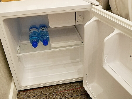 ウラジオストク カムインホテル おすすめ ブティックホテル KamInn Hotel スタンダードダブルルーム 宿泊記 室内 冷蔵庫
