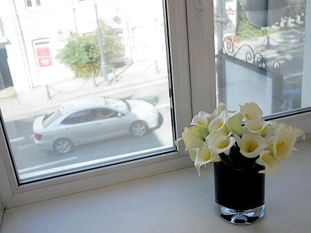 ウラジオストク カムインホテル おすすめ ブティックホテル KamInn Hotel スタンダードダブルルーム 宿泊記 室内 景色 眺め