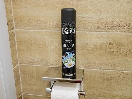 ウラジオストク カムインホテル おすすめ ブティックホテル KamInn Hotel スタンダードダブルルーム 宿泊記 室内 消臭スプレー