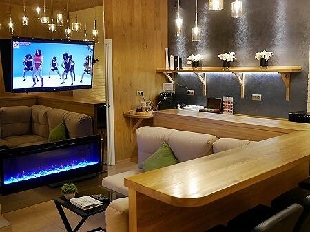ウラジオストク カムインホテル おすすめ ブティックホテル KamInn Hotel 共用スペース
