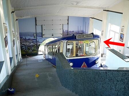ウラジオストク「鷲の巣展望台」への行き方 ケーブルカーの乗り方 バス停