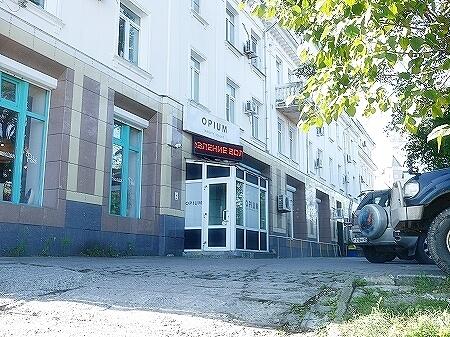 ウラジオストク ジェルネイル OPIUM ベルサイユホテル近く 美容院 ネイルサロン シャンプー 行き方 場所