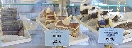 ウラジオストク Duet カフェ デュエット かわいい かわいすぎるカフェ ケーキ 種類 メニュー