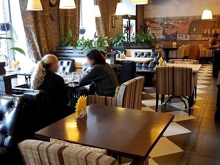 ウラジオストク ショコラドニッツァ ШОКОЛАДНИЦА おすすめカフェ ロシア 店内