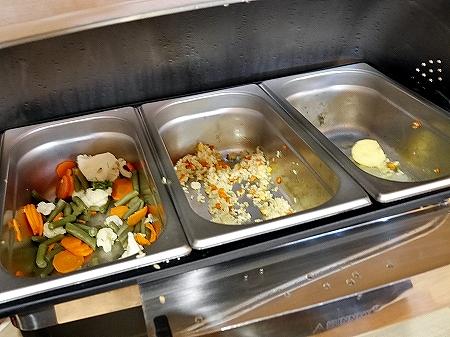 プライオリティパス ウラジオストク空港 Primorye Lounge 場所 プリモリエラウンジ プリモーリエラウンジ 温野菜 チャーハン 食べ物 食事