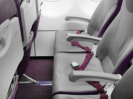 香港エクスプレス搭乗記 羽田-香港 UO625 UO624 LCC 機内 座席 シート