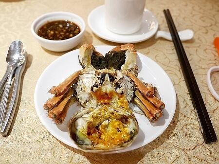 香港 蟹味噌 滬江大飯店 上海蟹 Wu Kong Shanghai Restaurant おすすめ 一人旅