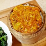 香港 蟹味噌 滬江大飯店 上海蟹 Wu Kong Shanghai Restaurant おすすめ 一人旅 蟹味噌おこわ