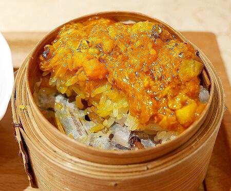 香港 蟹味噌 滬江大飯店 上海蟹 Wu Kong Shanghai Restaurant おすすめ 一人旅 かに味噌おこわ