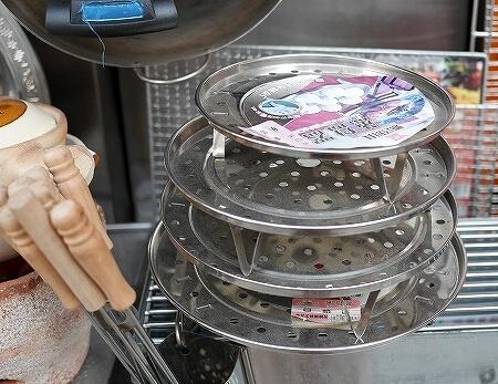 香港のかっぱ橋 上海街 キッチングッズ 問屋街 食器 蒸し器 蒸し台