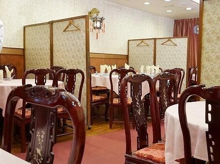 香港 蟹味噌麺 天香樓 蟹味噌ヌードル 蟹味噌ラーメン 天香楼 上海蟹 店内
