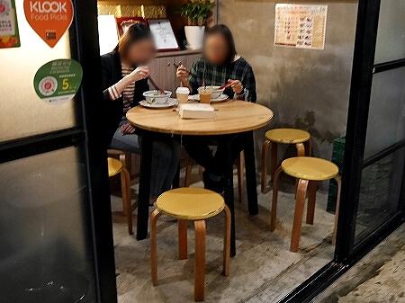 香港 我杯茶 My Cup Of Tea A CUP OF TEA WAN CHAI 香港ミルクティー 湾仔 ワンチャイ カフェ 店内 席