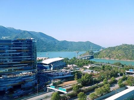 香港空港そば ノボテルシティゲート香港 おすすめホテル Novotel Citygate Hong Kong 宿泊記 レビュー スタンダードルーム室内 景色 眺め