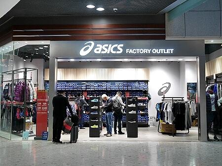 香港空港 シティゲートアウトレット アシックス ASICS