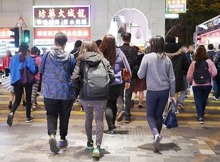 12月上旬の香港の気候 服装 気温 中旬 夜