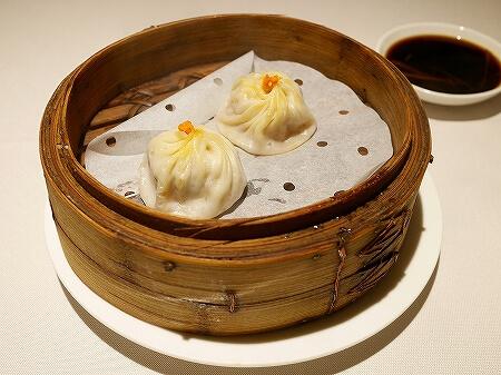 香港 留園雅叙 蟹味噌麺 蟹粉拌麺 上海蟹 カニミソ 蟹粉小籠包