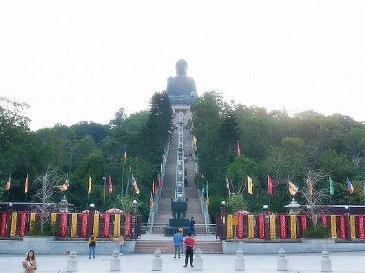 香港 ゴンピン360 昂坪360 ゴンピンビレッジ お土産屋 ショップ 仏像 大仏 天壇大仏