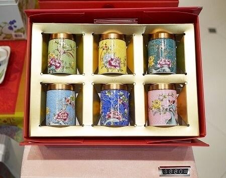 香港空港のおすすめお土産屋さん Salley's Garden お茶屋 中国茶 場所 値段 花茶 工芸茶 茶筒