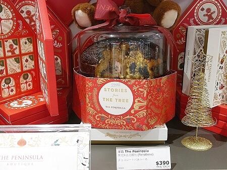 香港空港 ペニンシュラブティック お土産 場所 営業時間 香港手信 クリスマス限定 パネトーネ 値段