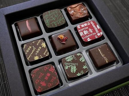 香港 夜上海 茶古力 中国茶フレーバ 高級チョコレート パシフィックプレイス ラッキーボックスセット 種類 値段