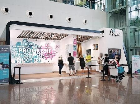 ブルネイ空港 SIMカード売り場の場所・値段 ブルネイ国際空港 プリペイドSIM PROGRESIF社