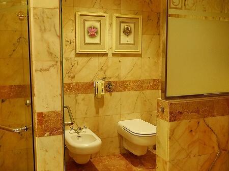 ブルネイ 7つ星ホテル エンパイアホテル宿泊記 スーペリアルーム ザ エンパイア ブルネイ ジ・エンパイア・ブルネイ The Empire Brunei ラグーンビル 部屋 室内 トイレ