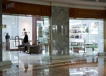 ブルネイ 7つ星ホテル エンパイアホテル宿泊記 ショップ・お土産屋さん The Empire Brunei ブランド店