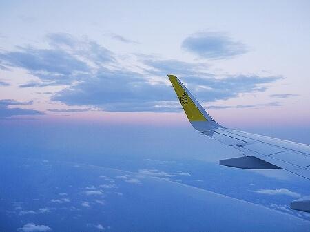 ブルネイ直行便 ロイヤルブルネイ航空搭乗記 成田-ブルネイ BI696 BI695 機内 席 景色 眺め
