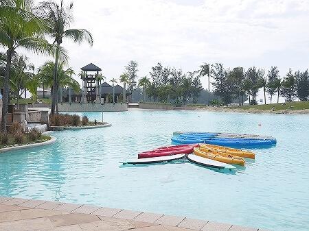 ブルネイ 7つ星ホテル エンパイアホテル 宿泊記 アクティビティ・施設 The Empire Brunei マリンセンター キッズクラブ カヤック