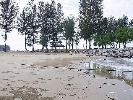 ブルネイ 7つ星ホテル エンパイアホテル 宿泊記 アクティビティ・施設 The Empire Brunei ビーチ 砂浜