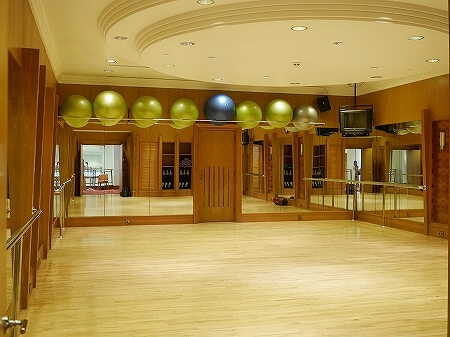 ブルネイ 7つ星ホテル エンパイアホテル 宿泊記 アクティビティ・施設 The Empire Brunei スパ ジム エクササイズルーム