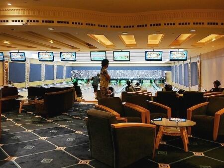 ブルネイ 7つ星ホテル エンパイアホテル 宿泊記 アクティビティ・施設 The Empire Brunei スパ ジム ボウリング場