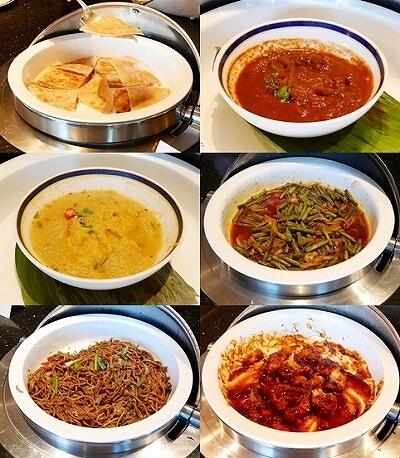 ブルネイ 7つ星ホテル エンパイアホテル宿泊記 朝食 The Empire Brunei レストラン ローカルフード カレー