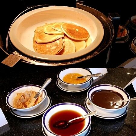 ブルネイ 7つ星ホテル エンパイアホテル宿泊記 朝食 The Empire Brunei レストラン パンケーキ