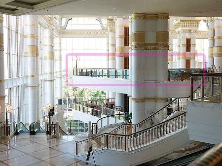 ブルネイ 7つ星ホテル エンパイアホテル 宿泊記 The Empire Brunei 旅行記 アフタヌーンティー ロビーラウンジ 場所