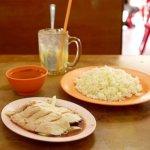 ブルネイ Thien Thien Restaurant Thien Thien Chicken Rice グルメ チキンライス レストラン ナシアヤム バンダルスリブガワン