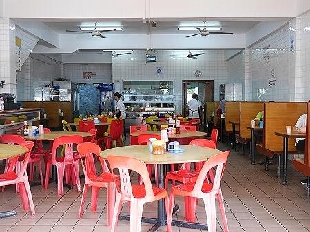 ブルネイ Thien Thien Restaurant Thien Thien Chicken Rice グルメ チキンライス レストラン ナシアヤム バンダルスリブガワン 店内