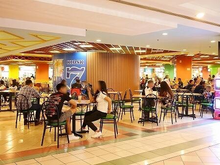 ブルネイ ザ・モール お買い物 スーパー 女子向けショップ The Mall Gadong ショッピング ブログ ガドン フードコート