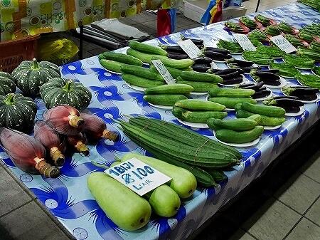 ブルネイ ガドンナイトマーケット ローカルフード おすすめグルメ ブログ 旅行記 野菜