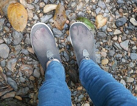 ブルネイ ウル・テンブロン国立公園 日帰りツアー ウル・トゥンブロン国立公園、Ulu Temburong National Park 英語ガイド Freme Travel フレーミートラベル 旅行記 ブログ 持ち物 靴 くつ