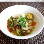 立地最高でおすすめ ザ・ブルネイホテル宿泊記 朝食 The Brunei Hotel レストラン 麺 ヌードル