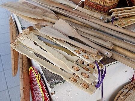 ブルネイ キアンゲマーケット Kianggeh Market 市場 観光 旅行記 ブログ 孫の手 お土産