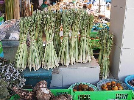 ブルネイ キアンゲマーケット Kianggeh Market 市場 観光 旅行記 ブログ レモングラス