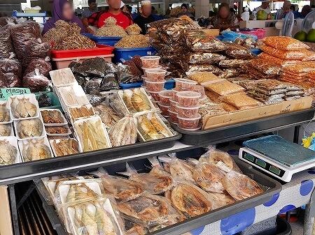 ブルネイ キアンゲマーケット Kianggeh Market 市場 観光 旅行記 ブログ 干物
