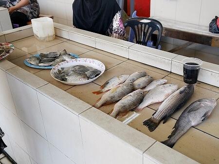 ブルネイ キアンゲマーケット Kianggeh Market 市場 観光 旅行記 ブログ 魚