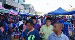 ブルネイのサンデーマーケット「Bandarku Ceria」へ♪ローカルで賑わう平和なフリーマーケット(Taman Haji Sir Muda Omar Ali Saifuddien公園横)